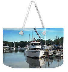 Weekender Tote Bag featuring the photograph Kennubunk, Maine -1 by Jerry Battle