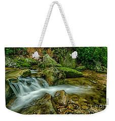 Kens Creek In Cranberry Wilderness Weekender Tote Bag
