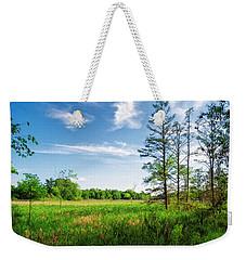 Weekender Tote Bag featuring the photograph Kensington Marsh by Lars Lentz