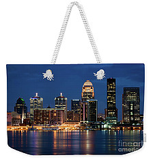 Kentucky Blue Weekender Tote Bag by Andrea Silies