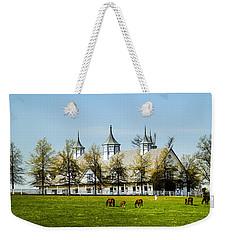 Revised Kentucky Horse Barn Hotel 2 Weekender Tote Bag