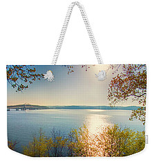 Weekender Tote Bag featuring the photograph Kentucky Lake by Ricky L Jones