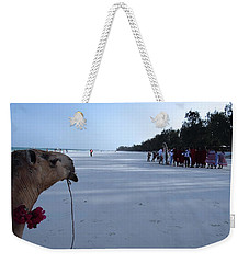 Kenya Wedding On Beach Distance Weekender Tote Bag