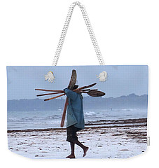 Kenyan Fisherman And Oars Weekender Tote Bag