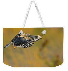 Kestrel Takes Flight Weekender Tote Bag