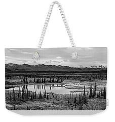 Kettle Pond And The Alaska Range Weekender Tote Bag