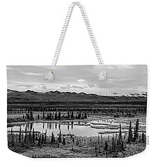 Kettle Pond And The Alaska Range Weekender Tote Bag