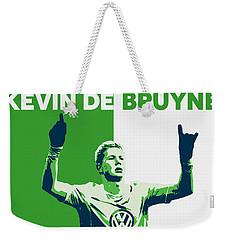 Kevin De Bruyne Weekender Tote Bag by Semih Yurdabak