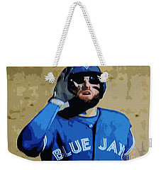 Kevin Pillar Weekender Tote Bag by Nina Silver