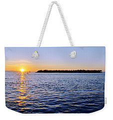 Weekender Tote Bag featuring the photograph Key Glow by Chad Dutson
