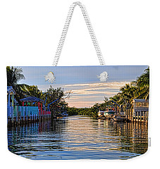 Key Largo Canal Weekender Tote Bag