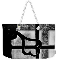 Weekender Tote Bag featuring the photograph Key To The World by Christi Kraft