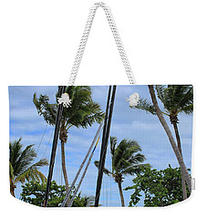 Key West - Sailboats On Beach Weekender Tote Bag