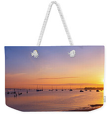 Keyport Harbor Sunrise  Weekender Tote Bag