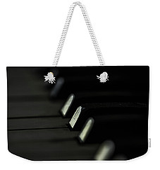 Weekender Tote Bag featuring the photograph Keys by Jay Stockhaus