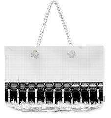 Keystone Dam Panoramic Weekender Tote Bag