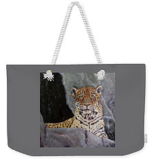 Khensu,  Jaguar Weekender Tote Bag