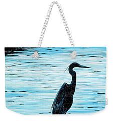 Kiawah Heron Weekender Tote Bag