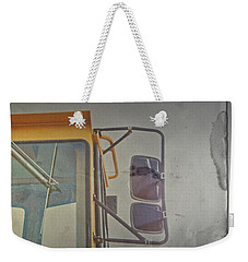 Weekender Tote Bag featuring the photograph Kick by Mark Ross