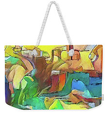 Kick The Can Down The Street Weekender Tote Bag