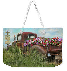 Kicks On Route 66 Weekender Tote Bag by Colleen Taylor