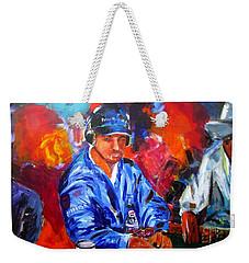 Kid Poker Weekender Tote Bag by Ken Pridgeon
