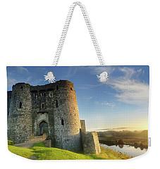 Kidwelly Castle 3 Weekender Tote Bag