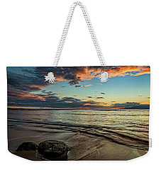 Weekender Tote Bag featuring the photograph Kihei, Maui Sunset by John Hight
