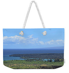 Weekender Tote Bag featuring the photograph Kiholo by Pamela Walton