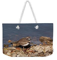 Kildeer On The Rocks Weekender Tote Bag