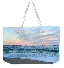 Weekender Tote Bag featuring the photograph Kill Devil Hills 11/24 by Barbara Ann Bell
