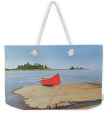 Killarney Canoe Weekender Tote Bag