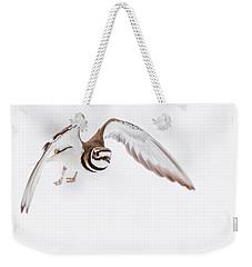 Killdeer In Flight Weekender Tote Bag