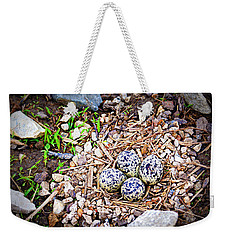 Killdeer Nest Weekender Tote Bag by Cricket Hackmann