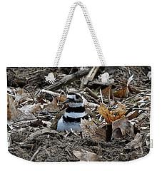 Killdeer On It's Nest 2682 Weekender Tote Bag