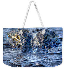 Weekender Tote Bag featuring the photograph Killer Instinct by Mark Andrew Thomas