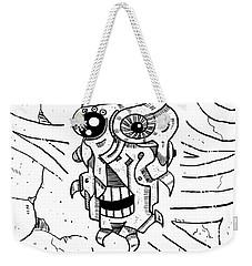 Killer Robot Weekender Tote Bag