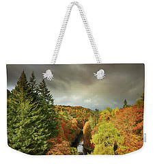 Killiecrankie Autumn Weekender Tote Bag