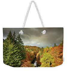 Killiecrankie Autumn Weekender Tote Bag