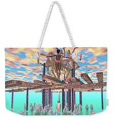 Kim Rising Weekender Tote Bag