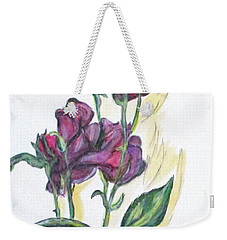 Kimberly's Spring Flower Weekender Tote Bag by Clyde J Kell
