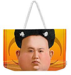 Kim Jong Un 2016 Weekender Tote Bag