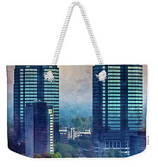 King And Queen Buildings Weekender Tote Bag