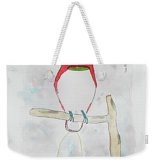 King Bird Of Paradise Weekender Tote Bag