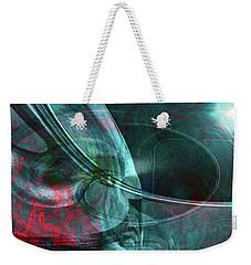Weekender Tote Bag featuring the digital art King Crimson by Linda Sannuti