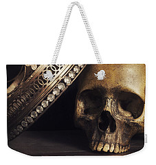 Weekender Tote Bag featuring the photograph King For A Day by Amy Weiss