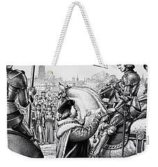 King Henry Vii Weekender Tote Bag by Pat Nicolle