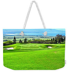 King Kamehameha G C Vista Weekender Tote Bag