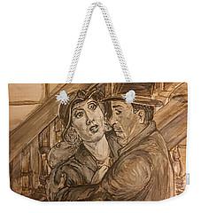 King Kong - A Chance Meeting Weekender Tote Bag