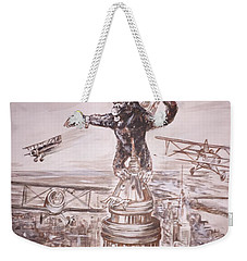 King Kong - Atop The Empire State Building Weekender Tote Bag